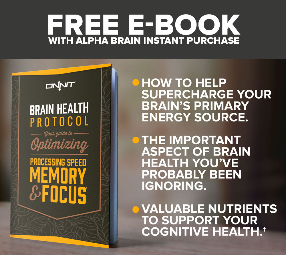 Onnit Introducing Alpha Brain Instant Ignite Your Brain Next